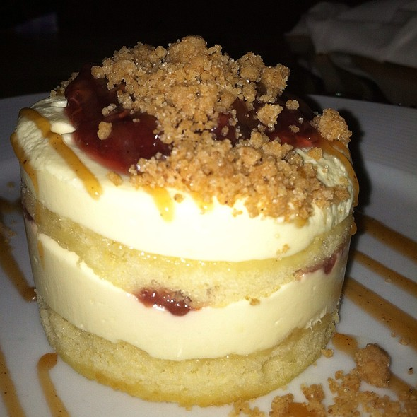 Lemon Mousse Cake @ Hungry Mother