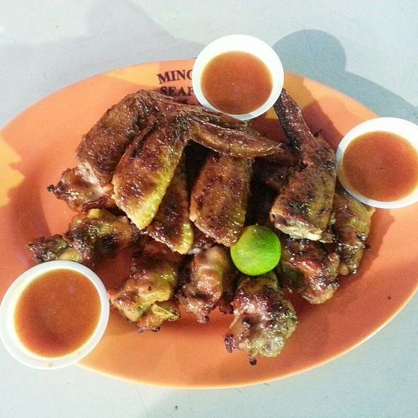 Chicken Wings @ Lau Pa Sat Festival Market