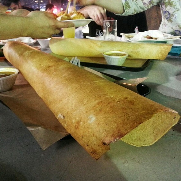 Paper Masala Dosa @ Lau Pa Sat Festival Market