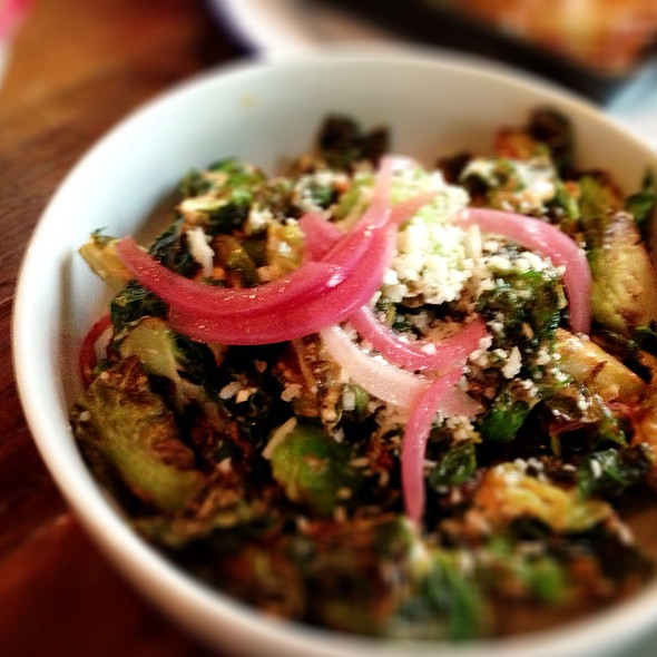 Fried Brussels Sprouts @ Bar Amá