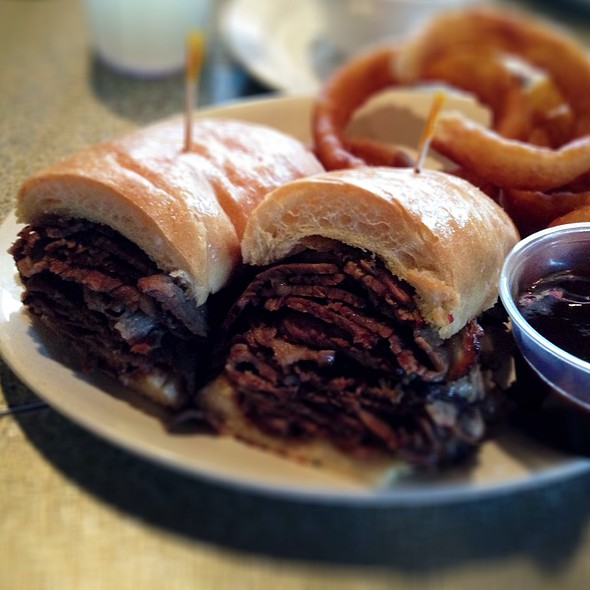 French Dip Sandwich @ Manhattan In the Desert