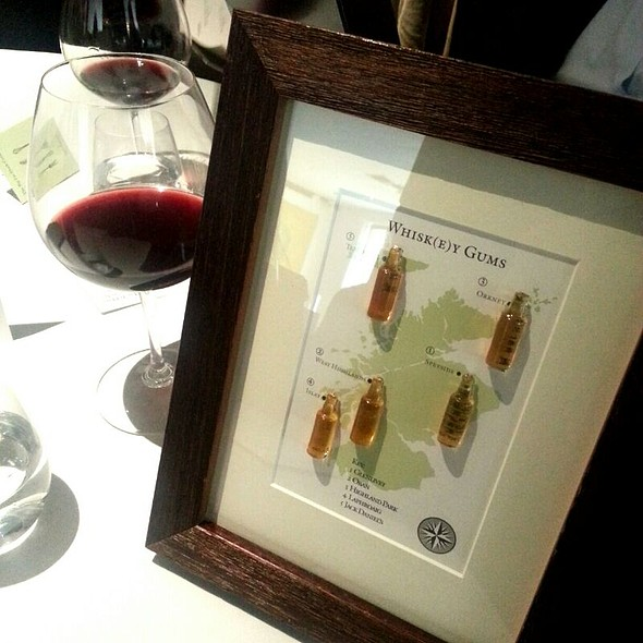 Whisk(e)y Wine Gums @ The Fat Duck