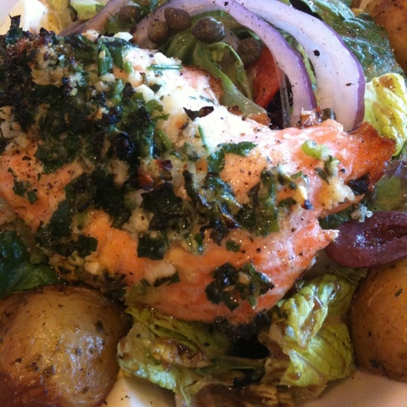 Nicoise Salad w/ Salmon @ Nordstrom Cafe