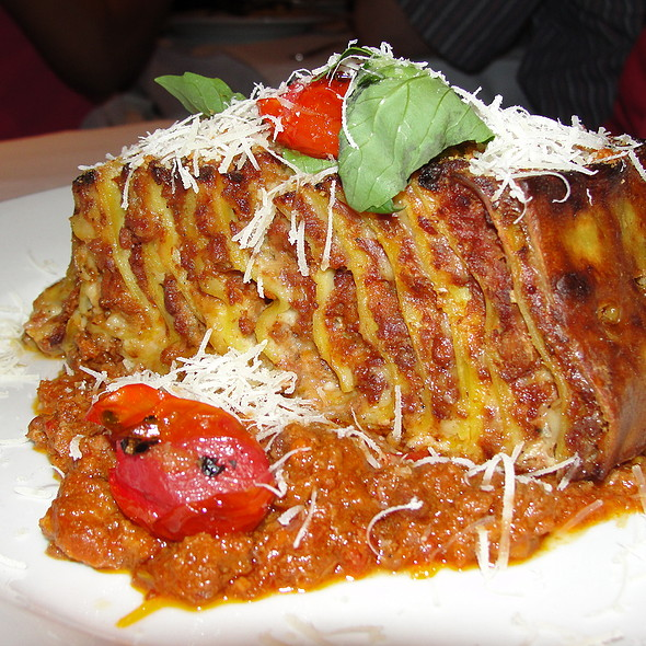 100 Layer Lasagna - Trattoria Dell'Arte, New York, NY