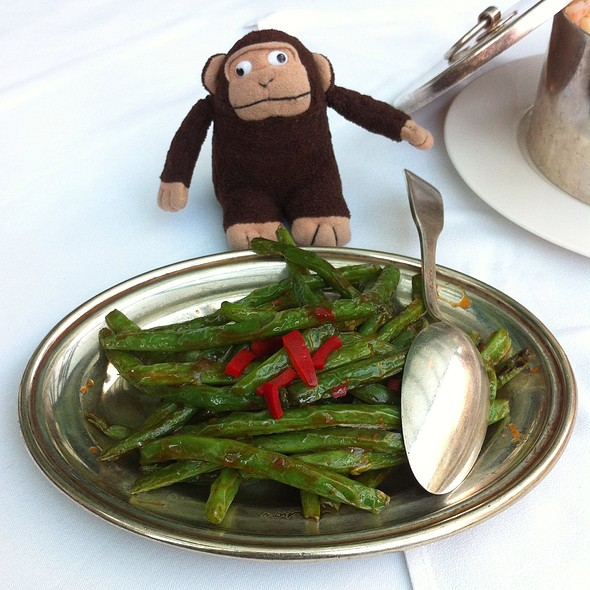 string beans - MR CHOW - TriBeca, New York, NY