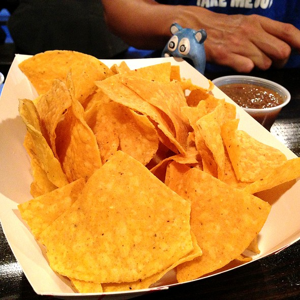Tortilla Chips @ Sol Mexican Grill
