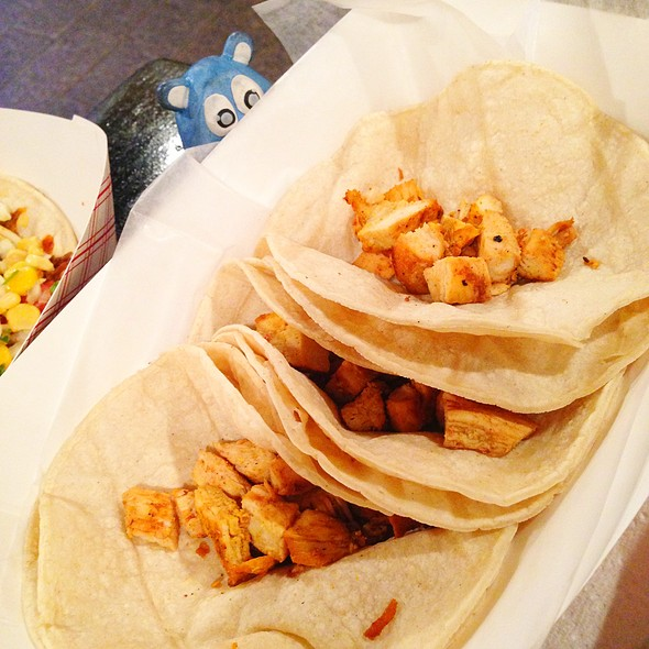 Chicken Tacos @ Sol Mexican Grill