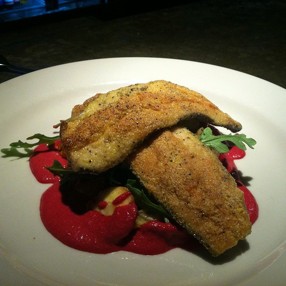 Cornmeal Crusted Local Trout - Montana Ale Works, Bozeman, MT