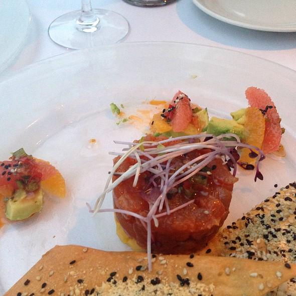 Tuna Tartare With Avocado And Pink Grapefruit - Eddie V's - La Jolla, San Diego, CA