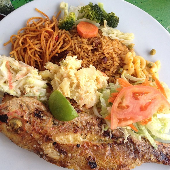 Grilled Red Snapper @ The Sky is the Limit