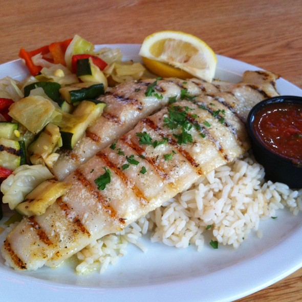 Grilled White Fish @ Seasalt Fish Grill LLC