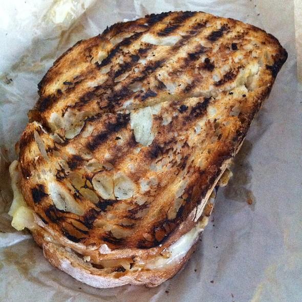 Fig And Cheese Sandwich @ Beecher's Handmade Cheese