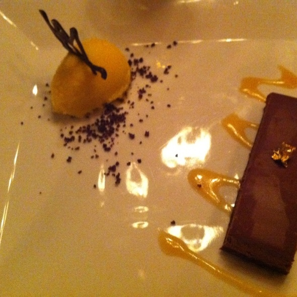 Chocolate Mousse @ Game Creek Club