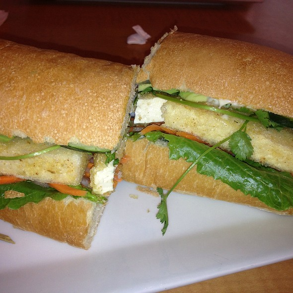 Secret Garden Sandwich @ Hiro Asian Sandwich Bistro