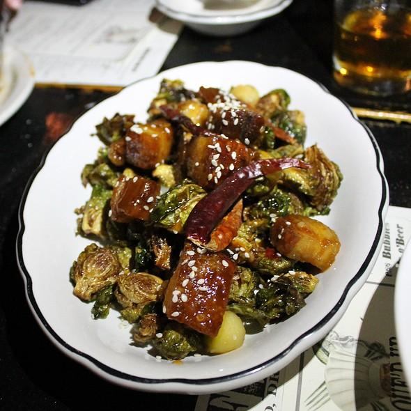 General Tso's Crispy Pork Belly