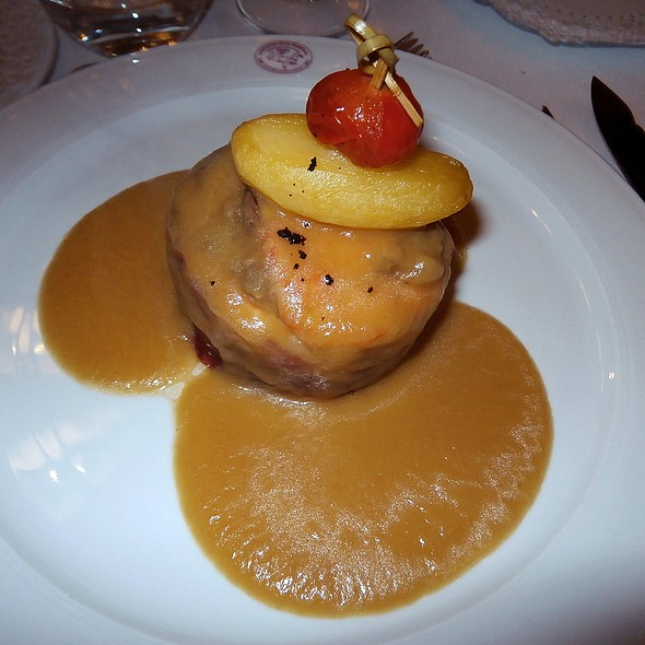 Albardado de salmón y setas @ Arcea Hotel Mirador de la Franca