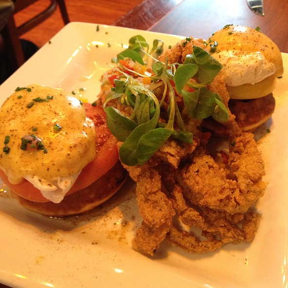 Born on the Bay-O Eggs Benedict @ Miss Shirley's