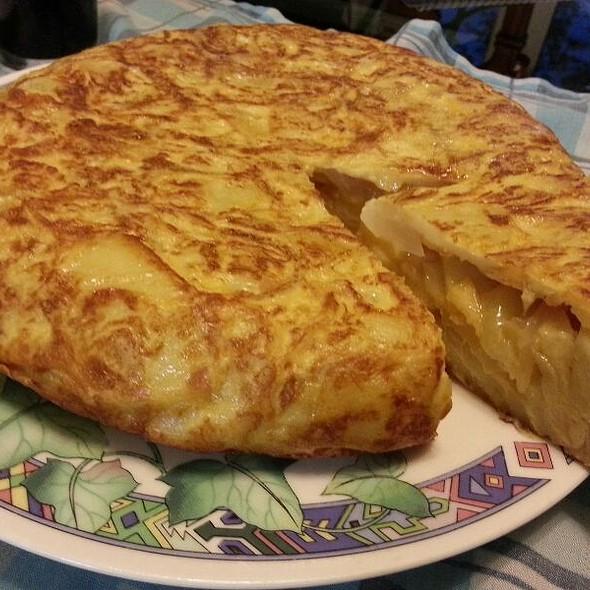 Spanish Omelette @ Orilla de Madrid Río