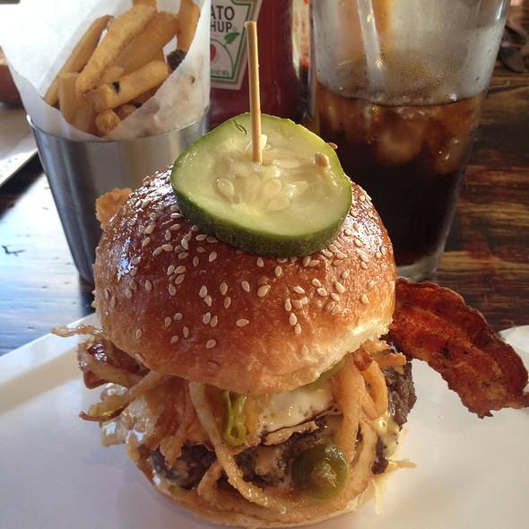 Wisconsin Burger - Jake's Burger, Brookfield, WI