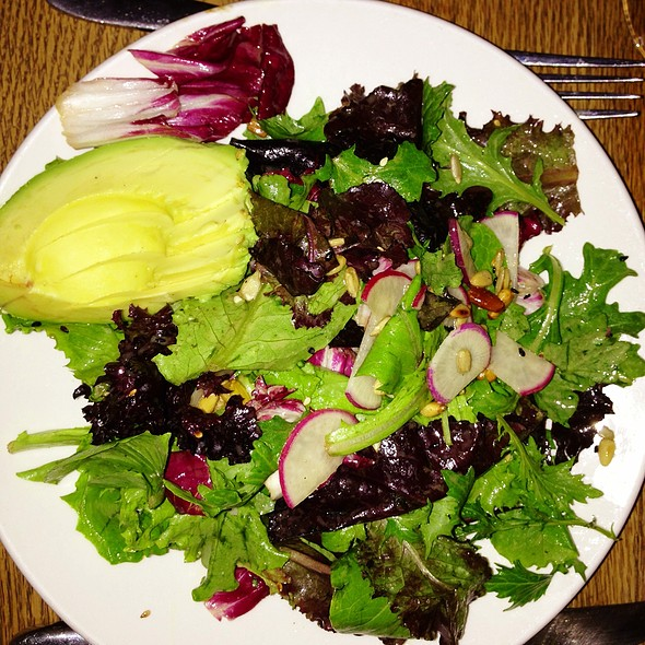 Market Lettuces, Avocado, Sesame Vinaigrette - The Fat Radish, New York, NY