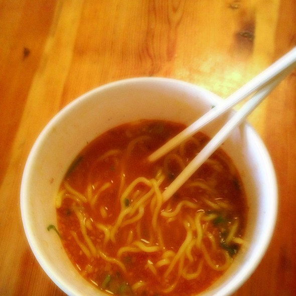 Spicy Garlic Tonkatsu Ramen @ Miki Restaurant