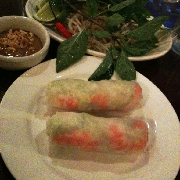 Shrimp Summer Rolls @ Pho Hoa Restaurant