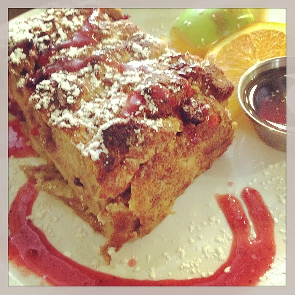 Cranberry Almond Baked French Toast @ Lady Marmalade