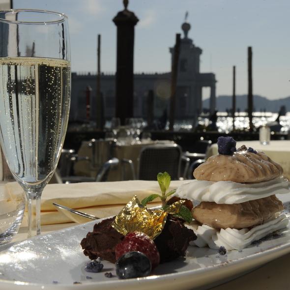 Mousse di castagne @ Grand Canal Restaurant - Venice