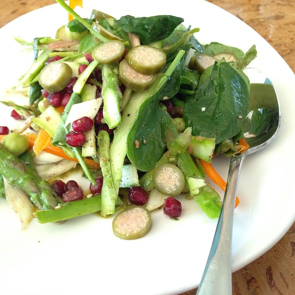Asparagus & Fennel Salad @ Odd Duck