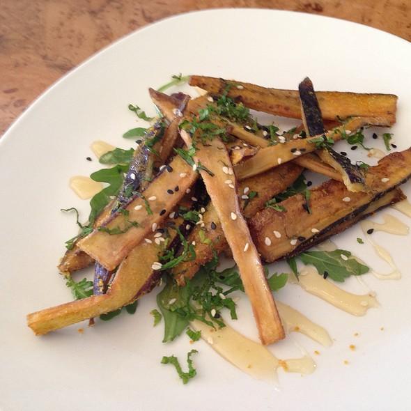 Honey Drizzled Eggplant Fries @ Odd Duck