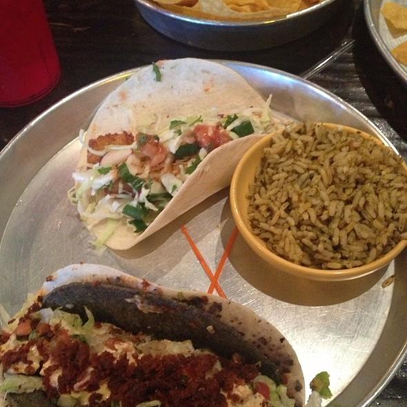 2 Tacos And A Side $8.99 @ Taco Mamacita