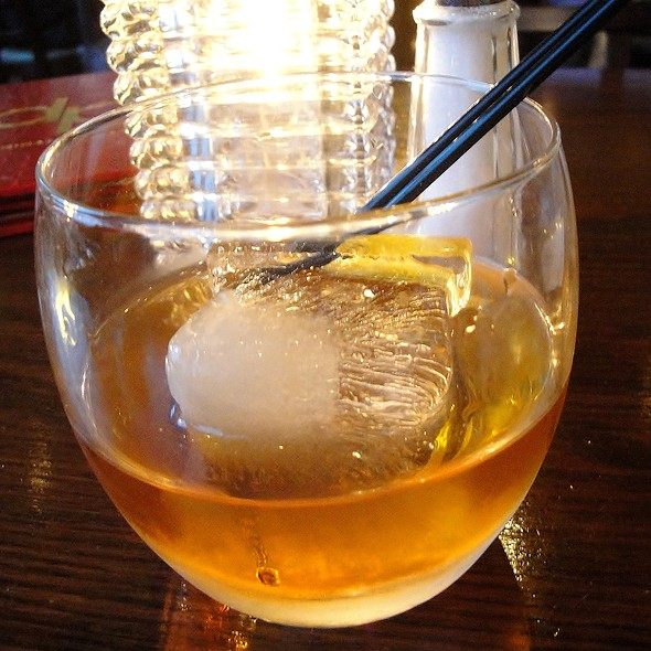 Hudson Baby Bourbon Old Fashioned - dp An American Brasserie, Albany, NY