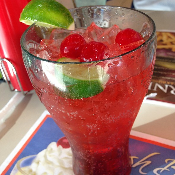 Cherry Limeade @ Steak 'N Shake