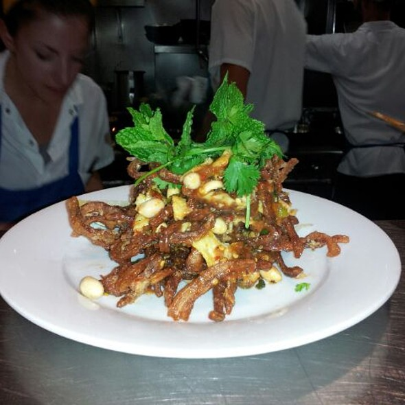 Pad Thai Pig Ear