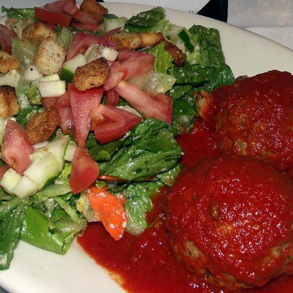 Meatball Salad - Scapa Italian Kitchen, Clarendon Hills, IL