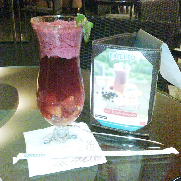 Healthy Fortune Juice @ Excelso Cafe