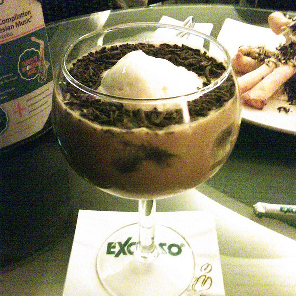 avocado coffee float @ Excelso Plaza Indonesia