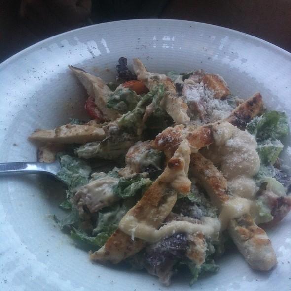 Chicken ceasar salad @ Med Restaurant Chersonissos
