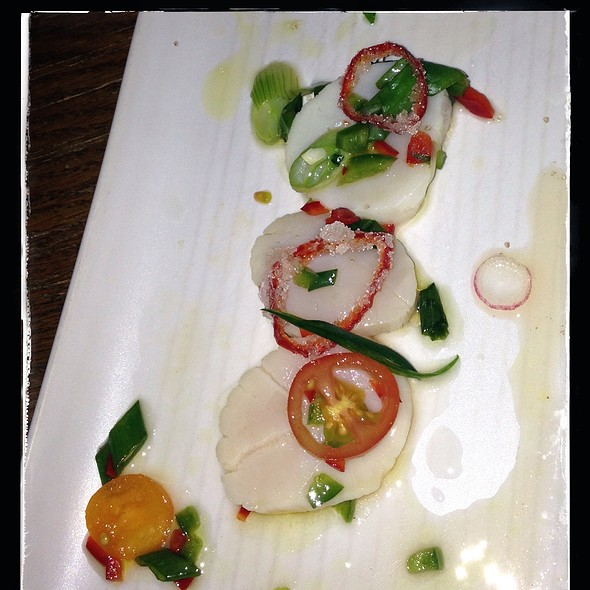 Scallop Ceviche - Kachina Southwestern Grill, Westminster, CO