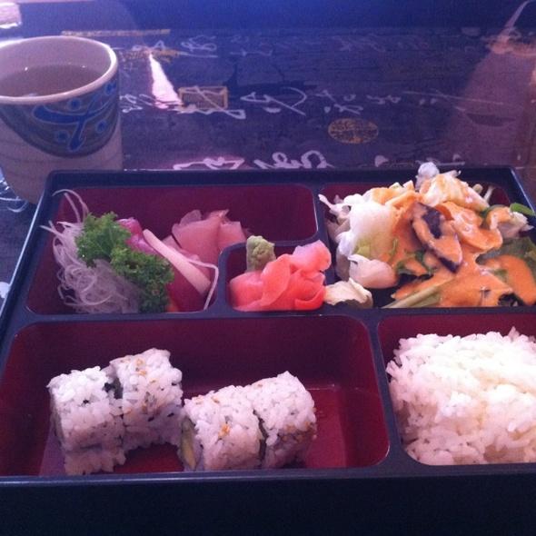 Sashimi bento box @ Kyoto Sushi & Grill
