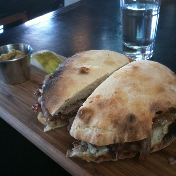 Roast Pork Sandwich - Basta, Boulder, CO