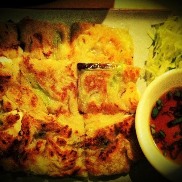 Seafood Pancake @ Bibimbap Soho