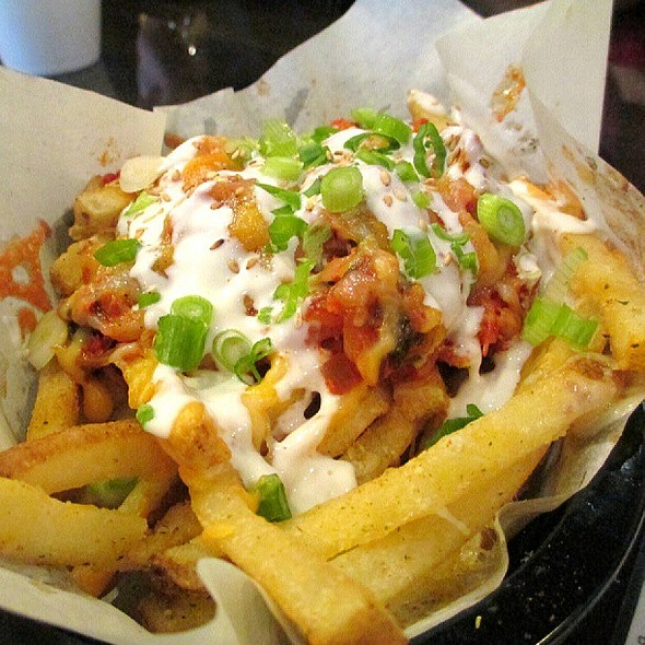 Kim Chee Pork Belly Fries!