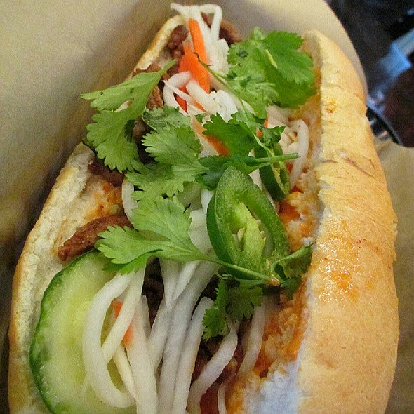Spicy Pork Banh Mi!