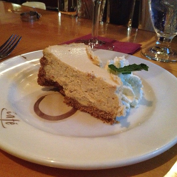 Bailey's Cheesecake @ Cafe This Way