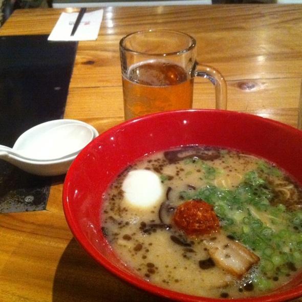 Akamura Modern Ramen @ Ippudo