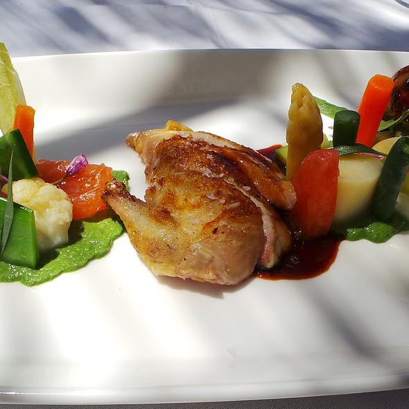 Quail with Vegetables @ Es Raco d'es Teix