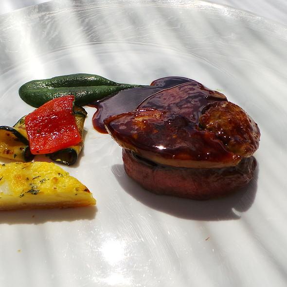 Fillet of beef with foie gras @ Es Raco d'es Teix