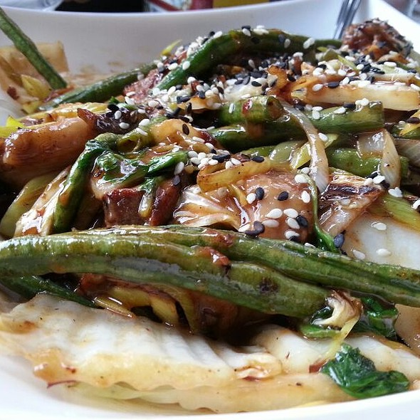 Twice-cooked Lamb Belly Stirfry @ Myers+Chang