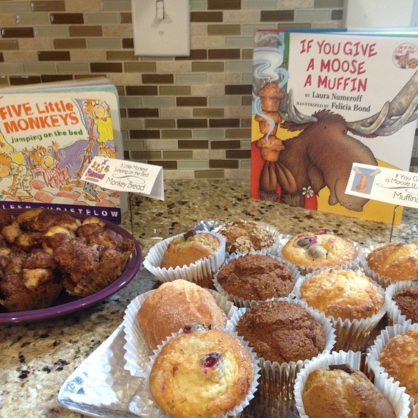 Muffins & Monkey Bread @ My Friend's Baby Shower